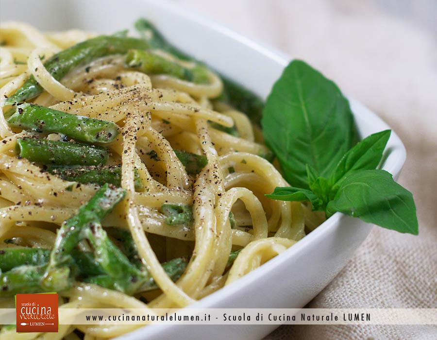 Panna Vegetale, provala con le Linguine ai fagiolini e basilico