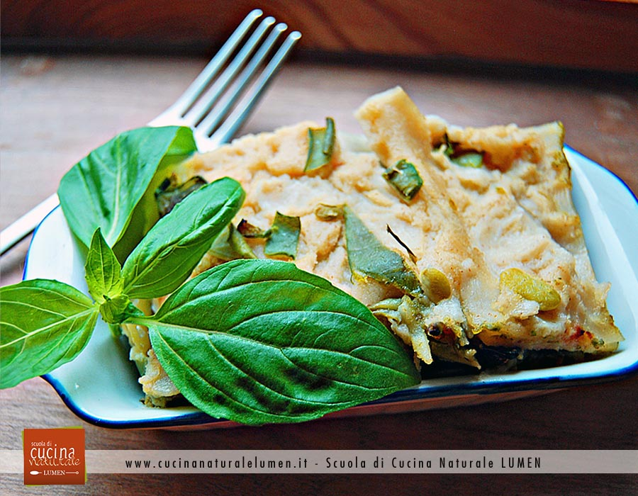 lasagne vegane ricetta al pesto