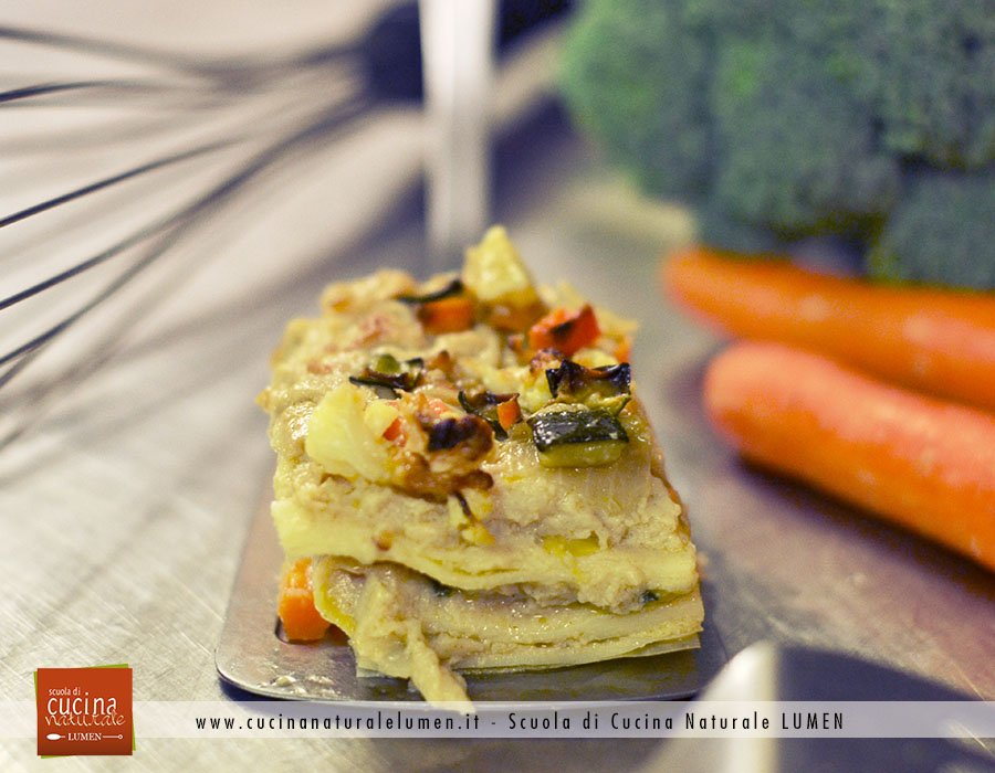 lasagne vegane alle verdure