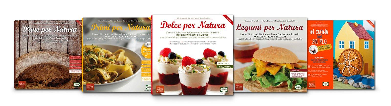 collana di libri ricette vegane