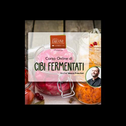 corso online cibi fermentati