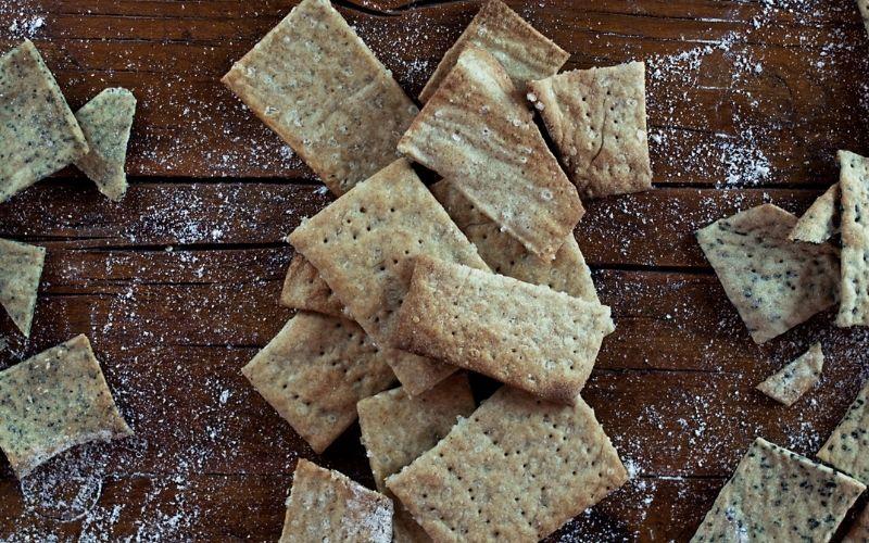 corso online di cracker con pasta madre